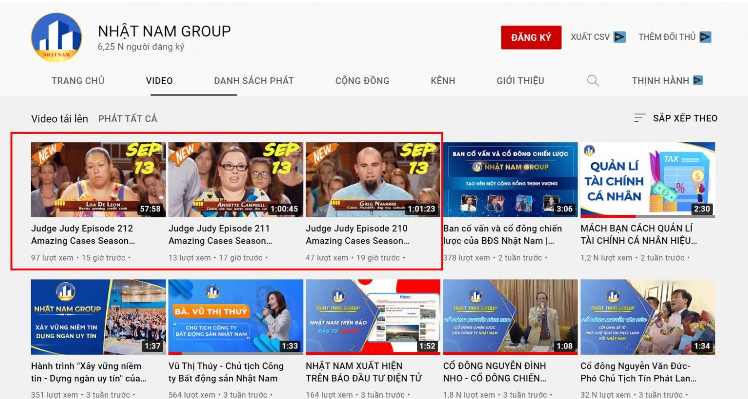 channel-youtube-nhat-nam-group